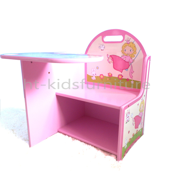 2015 dise o 60x60x44 cm princesa de impresi n cuadrada for Mesas y sillas para ninas