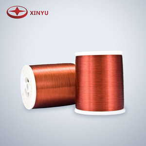 Grade 2 Class 180 Enamel coated aluminum/copper wire for motor and transformer winding