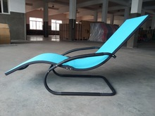 Aluminum Lightweight Folding Beach Swimming Pool Lounge Chair