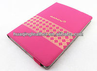 Ultra thin smart leather case for ipad mini various color with smart wake/sleep function