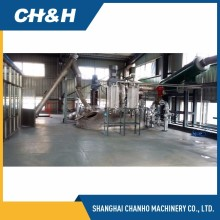 Grain urea formaldehyde resin production line