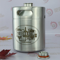 64OZ screw cap aluminium can