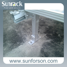 Fixed Solar Flat Roof Mounting Systems