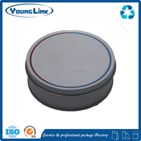 round candy tin box/candy tin can/tin box for candy packing