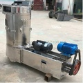 Stainless steel wheat washing and drying machine