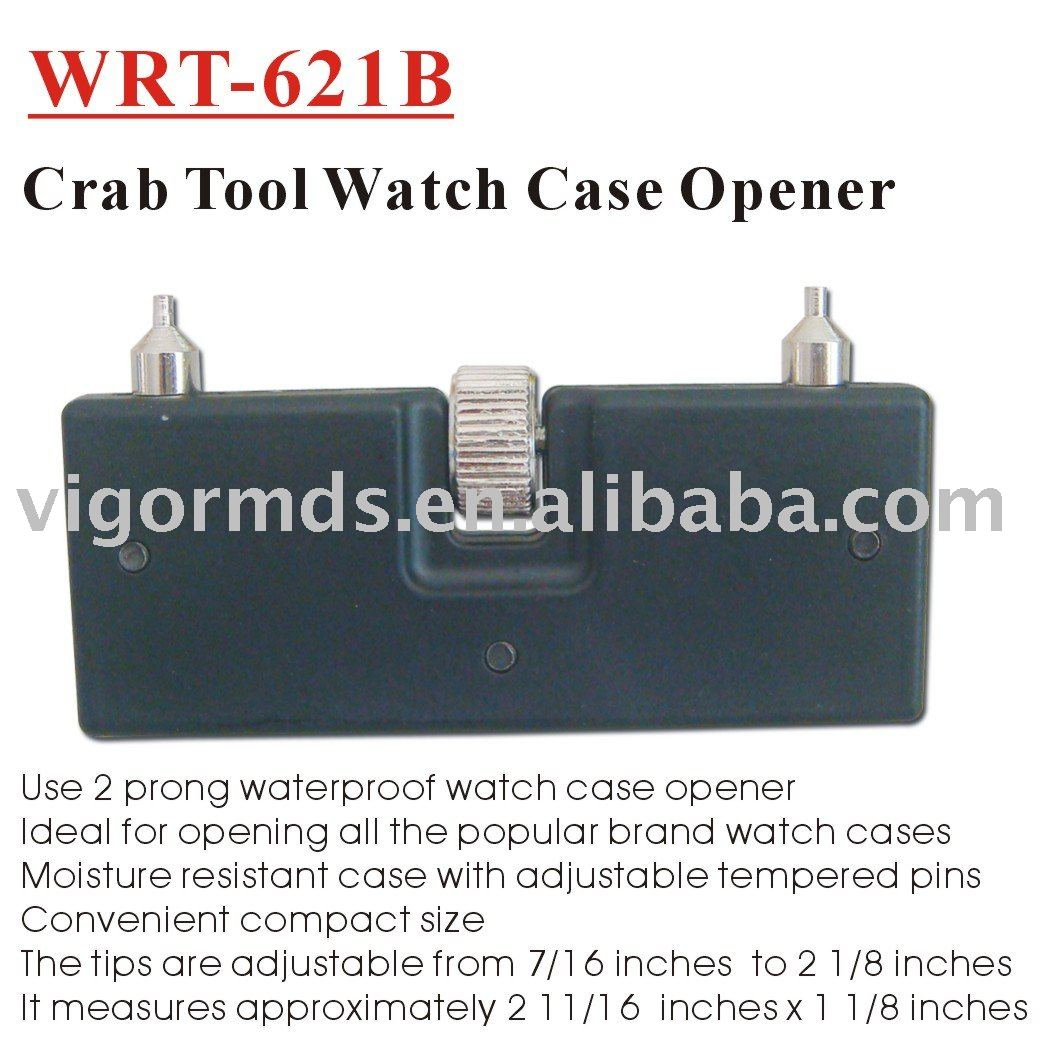 (WRT-621B) Pocket Watch Case Opener Crab Tool 2 Prong Remover