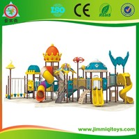 Top sale plastic climbing frames playground outdoor equipments to kindergarten JMQ-J044C
