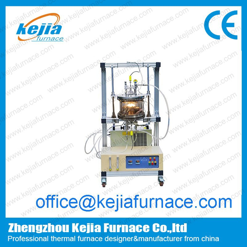 Two Zones Rapid thermal processing furnace/cvd machine chemical vapor deposition