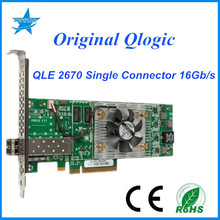 Qlogic QLE2670 original 1 Ports 16Gb/s Single Connectors SR-Optic outperform Emulex reduced CAPEX and OPEX