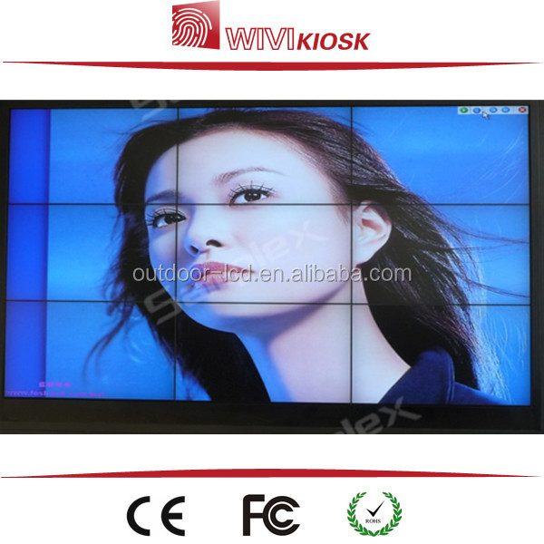 "Samsung LG indoor 42""/46""/47""/55"" wall mounted customized lcd video wall / surveillance monitor"