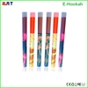 Colorful 600 puffs portable e hookah shisha pen free sample