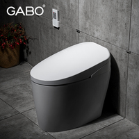 Electric tankless round toilets