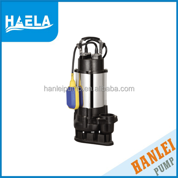 taizhou hanlei V550F electric SEWAGE stainless steel deep well submersible pump 2 inch