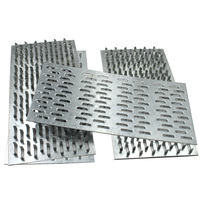 Timber building connector galvanized steel nail plates for roof truss