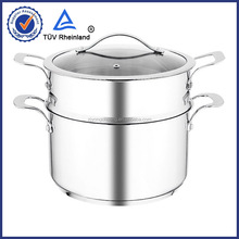 industrial steam cooking pot stainless steel induction different size