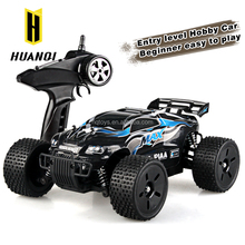 2016 New HuanQi 747A Four-wheel Drive used electric Hobby Truck Car 1 to 16 High Speed Off-road rc car
