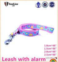 Dog Leash with alarm in Zhejiang Yiwu professional factory