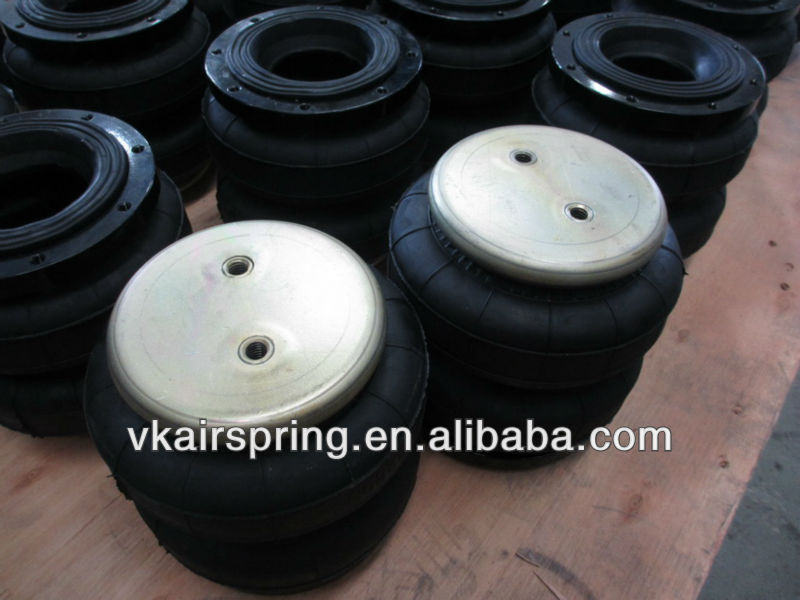 Double convoluted air bags D2500/ Endcap and flange air lift/ Truck spare parts for American Pick Up