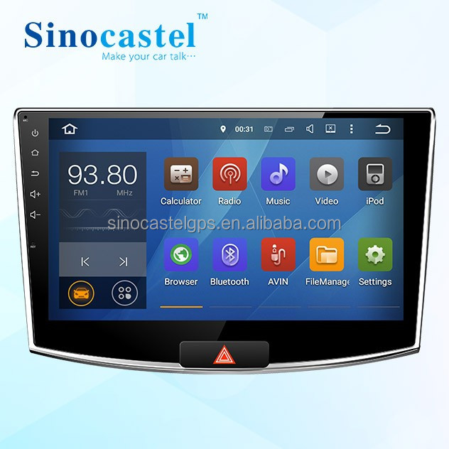 Used Car CD Player Android 5.1.1 OS 1024*600 HD Touch Screen With Canbus Radio Tuner For VW Magotan 2015