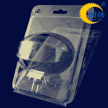 customized plastic clear transparent clamshell blister packaging