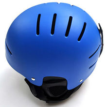 Low Price CE ABS Blue Snow Winter Ski Snowboard Helmet