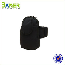 Waterproof running hand phone arm bag for mobile phone