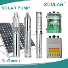 DC solar water pump for home use DC 12v, 24v, 36v, 48v, 72v, 110v, 120v