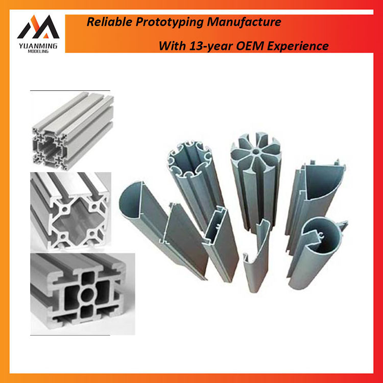 Good Service Extruded Aluminum Parts Customized Details