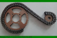 Dajin 1045 shineray 500cc parts automatic transmission moto kit transmission/shineray 500cc parts /motorcycle chain and sprocket