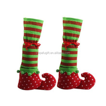 Christmas Table Leg Covers Elf Shoes Party Decorations