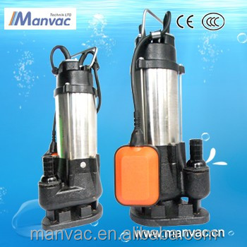 V1100F 1.1KW 50HZ Dong Guan Max head 17M High Head Submersible Water Pump