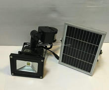 Solar led Lighting 12V 24V motion sensor light flood light 10w