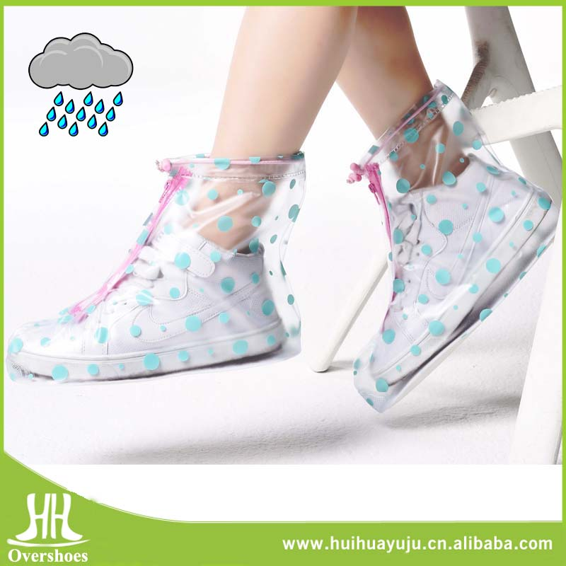 New design gardening pvc waterproof overshoes