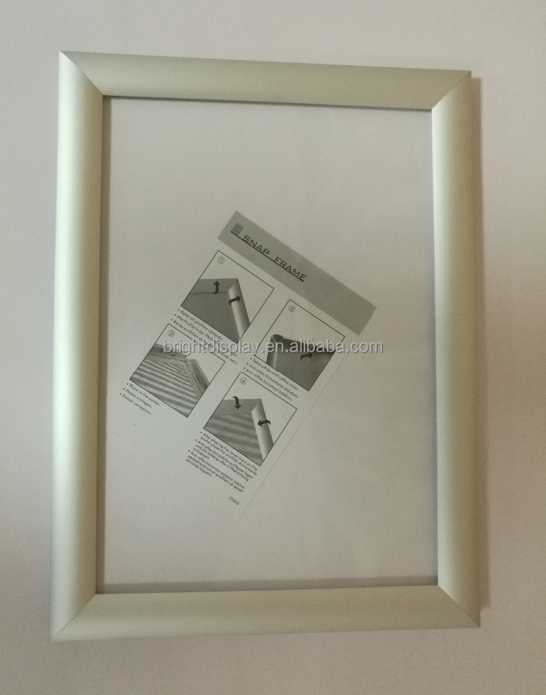 New model 25mm Aluminium clip frame,<strong>Poster</strong> frame A1/ A2/ A3/ A4