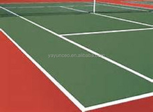 good weather resistance rubber acrylic tennis court flooring materials tennis court cover outdoor rubber flooring