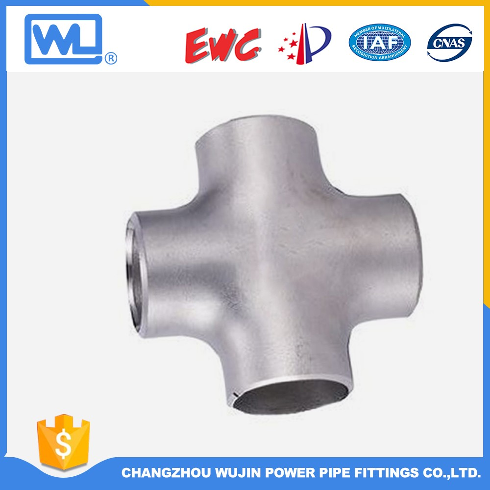 Stainless Steel Pipe Cross Four Ways Fittings