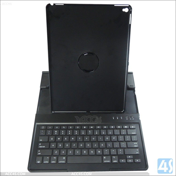 New arrival 360 Degree removable Rotation protective wireless Bluetooth Keyboard for Apple iPad Pro 12.9