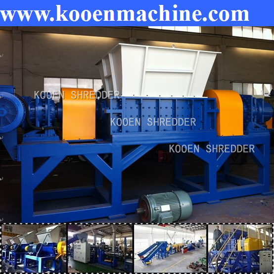good performance metal shredder machine aluminum iron steel shredding machine