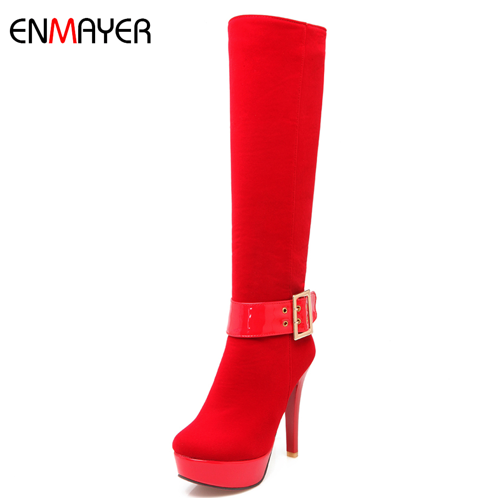 Australia brand name suede women boots 5 inches high heel platform women winter boots