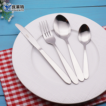 stainless steel cutlery sets restaurant spoon fork knife sets
