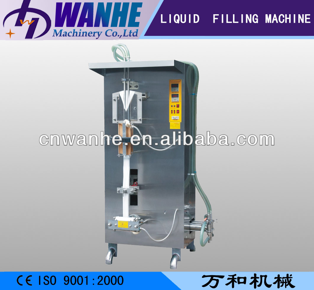 SJ-1000II automatic two double filling line liquid juice bag filling sealing machine juice packing machine