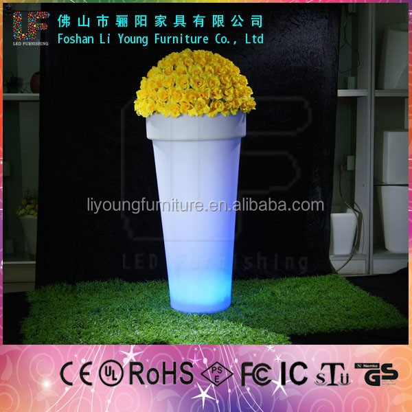 LED Light Flower Pots/Garden Plant Container LGL20-1603
