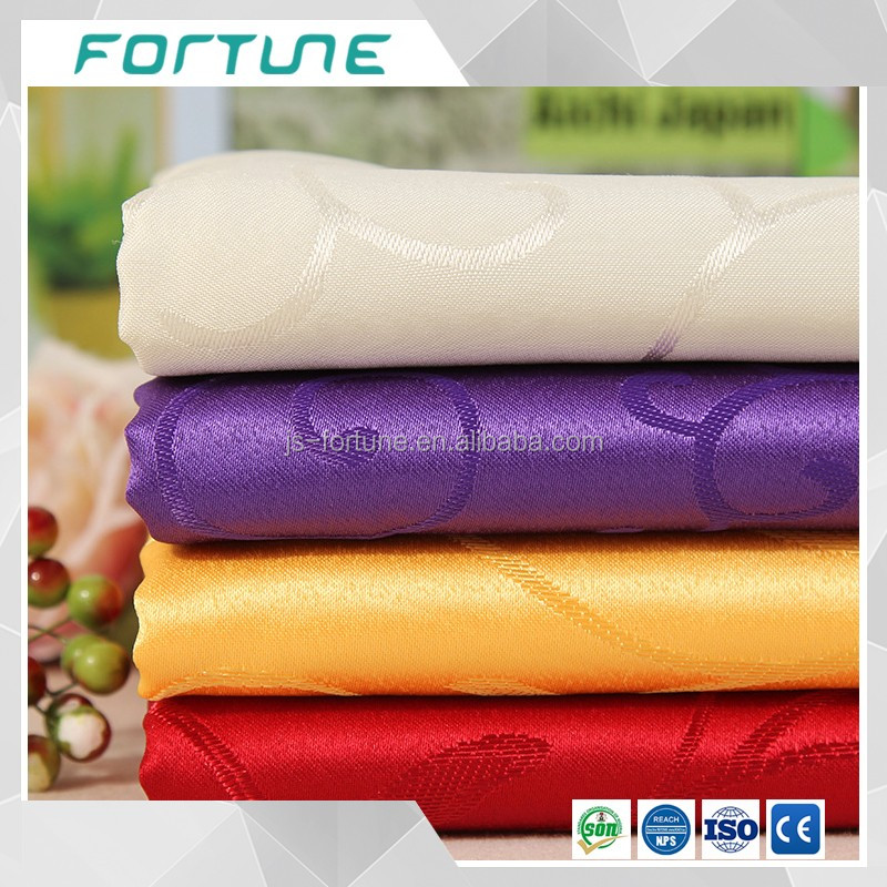 polyester printed fabric to make table cloth