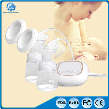 FDA passed BPA free USB Charging Double breast pump electric