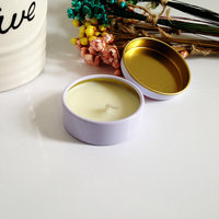 hand poured natural soy wax body massage oil candle