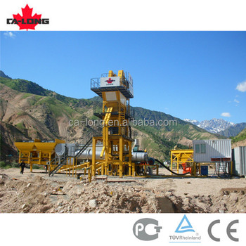 56t/h CLY-700 mobile asphalt mixing plant