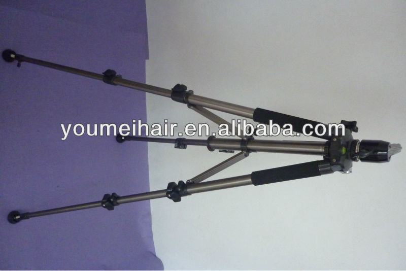 top quality hairdressing model tripod training head stand