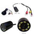 20m Waterproof Fishing Camera with IR/ LED Light, Great Night Vision Fishing Camera