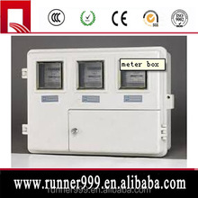 waterproof single phase electrical energy SS electric meter box