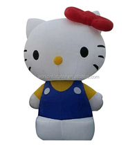 inflatable cartoon, inflatable hello kitty for advertising, cute inflatable hello kitty for sale